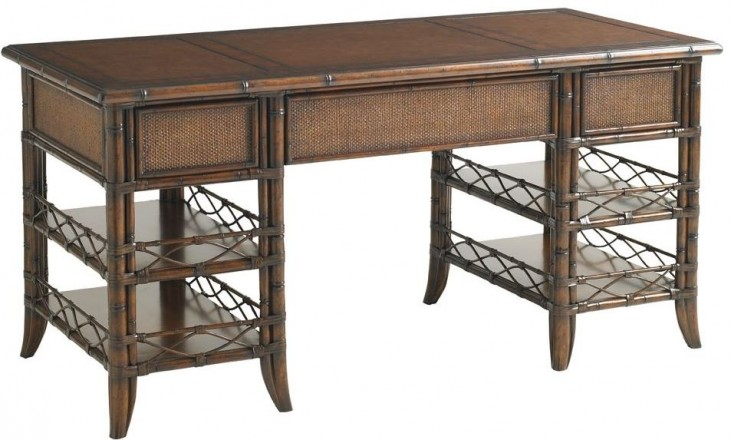 Bal Harbor Rich Sienna Malibu Desk