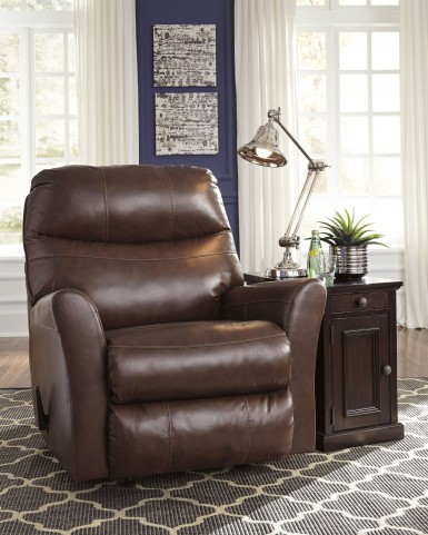 Pranav Brown Rocker Recliner