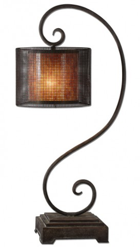 Dalou Scroll Lantern Table Lamp