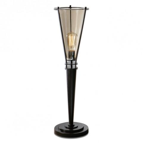 Frisco Black Metal Accent Lamp