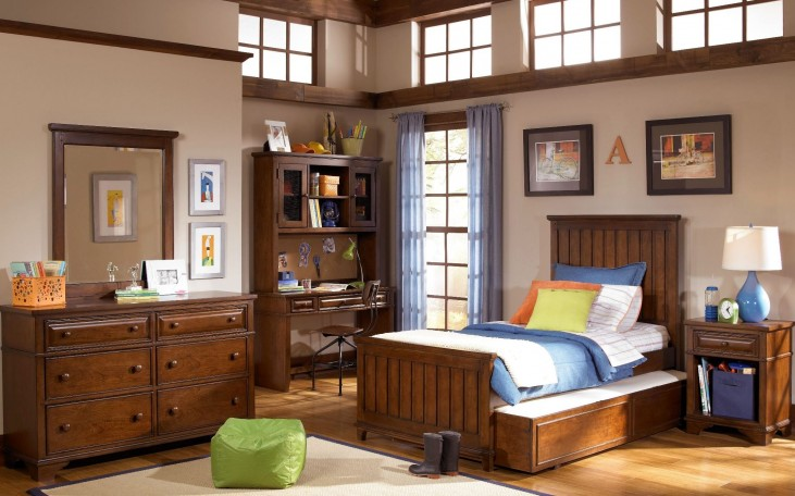 Dawsons Ridge Panel Bedroom Set