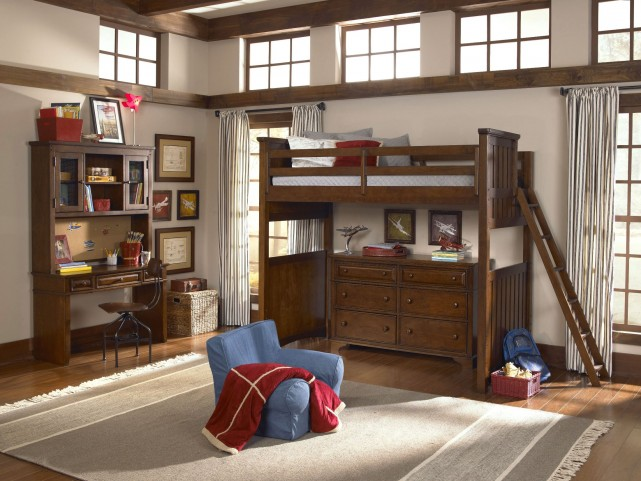 Dawsons Ridge Youth Open Loft Frame Bedroom Set