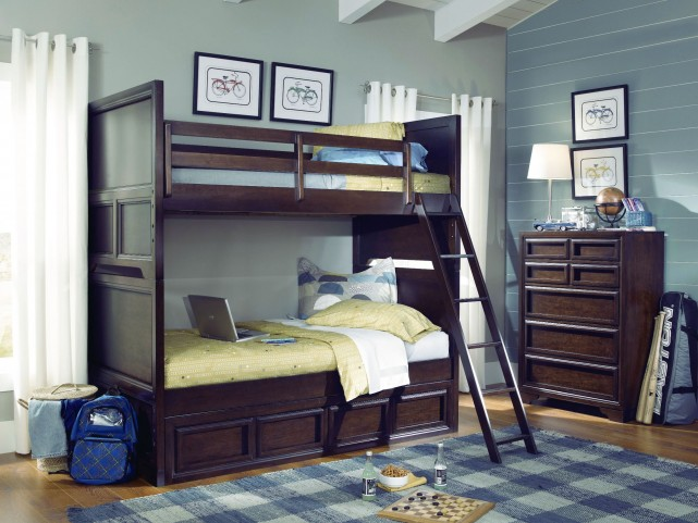 Benchmark Storage Bunk Bedroom Set
