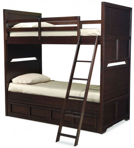 Benchmark Twin over Twin Storage Bunk Bed