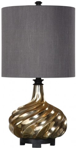 Cotati Metallic Antique Gold Lamp