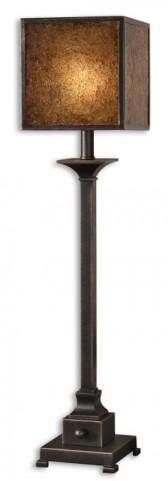 Meora Rustic Bronze Buffet Lamp