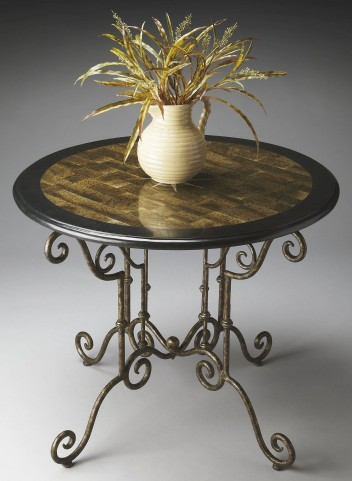 2992025 Metalworks Foyer Table