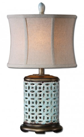 Rosignano Blue Buffet Lamp