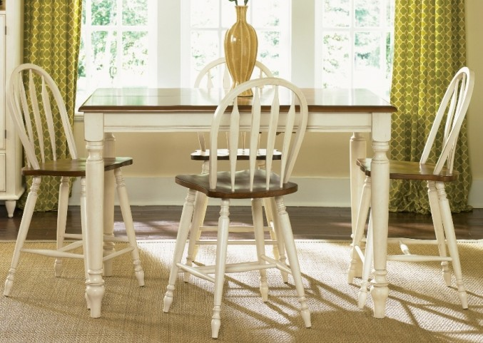 Low Country Sand Counter Height Dining Set