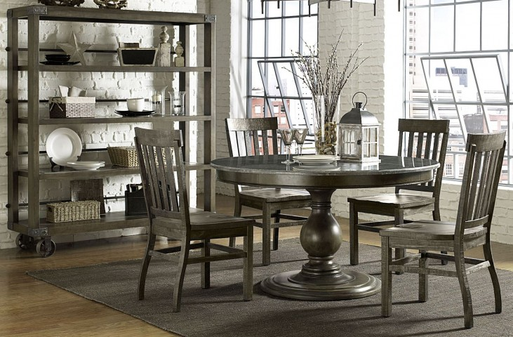 Karlin Large Round Dining Room Set