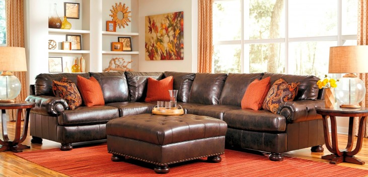 Nesbit DuraBlend Antique Large RAF Sectional