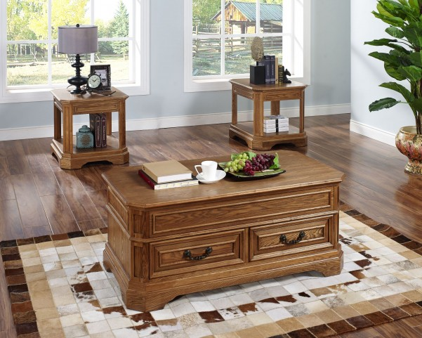 Oakridge Occasional Table Set