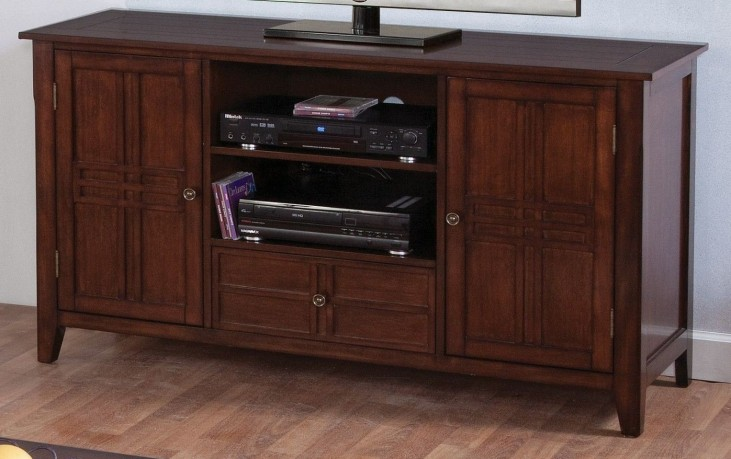 Burton Antique Honey Entertainment Console