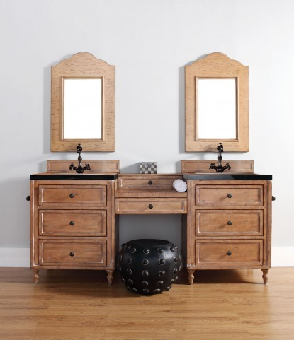"Copper Cove 26"" Driftwood Patina Single 4CM Top Vanity Set"