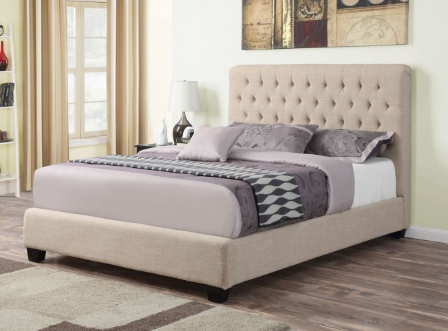 Chloe King Platform Bed