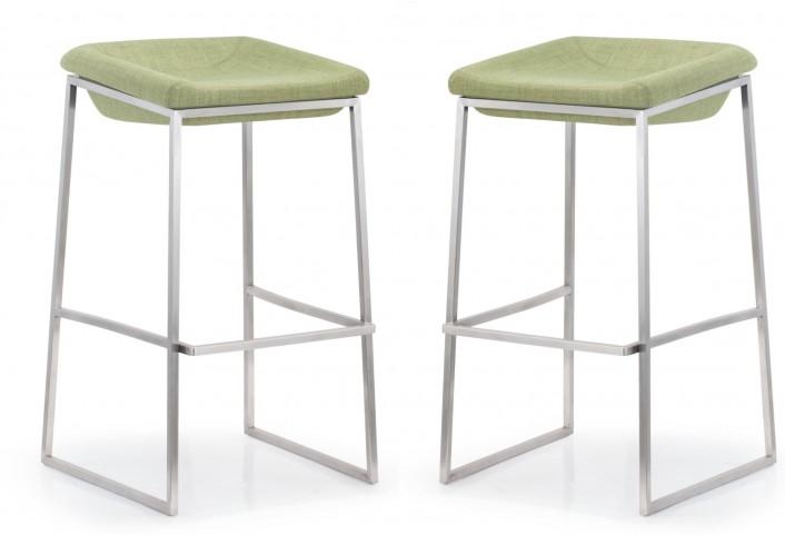 Lids Green Bar Chair Set of 2