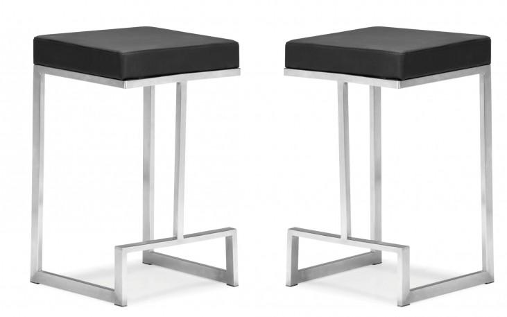 Darwen Counter Chair Black Set of 2