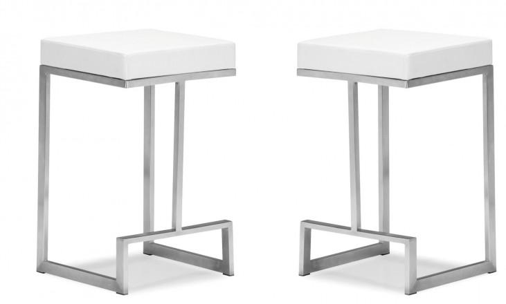 Darwen Counter Chair White Set of 2