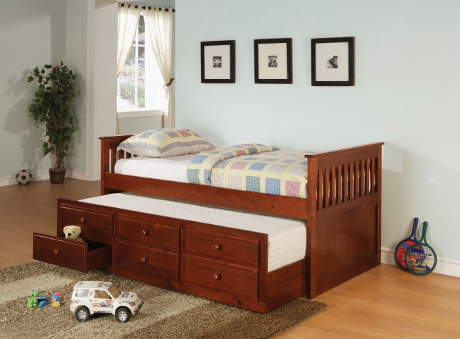 Cherry Daybed With Trundle