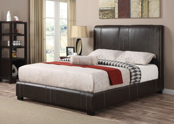 Caleb King Size Platform Bed