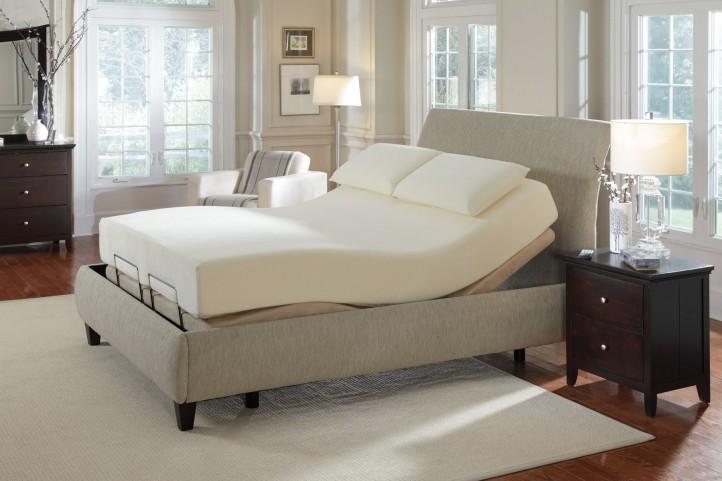 Cal. King Long Adjustable Massage Bed