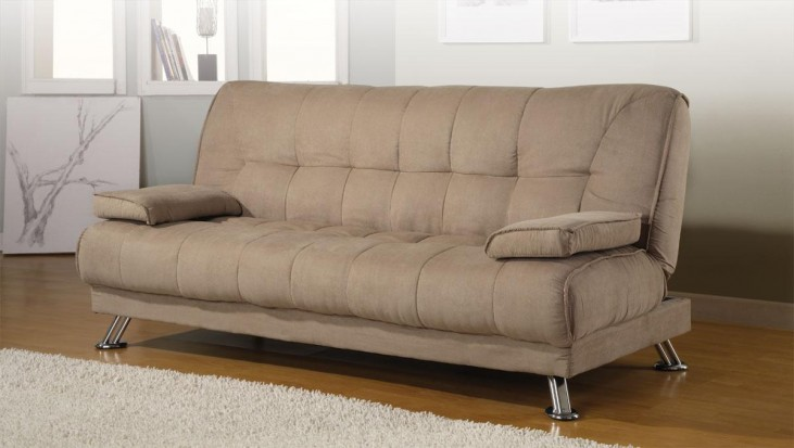 Convertible Sofa Bed Removable Armrests