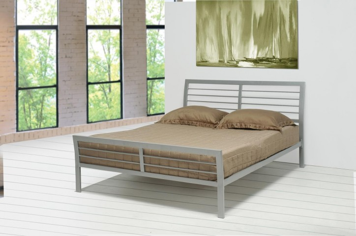 Stoney Creek Grays Queen Iron Bed