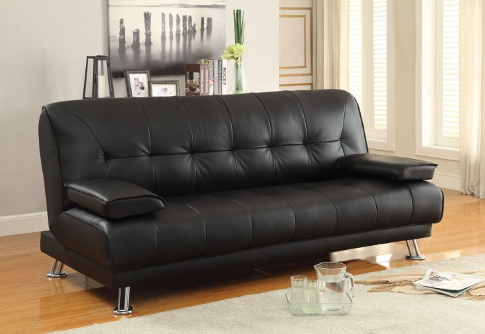 Braxton Black Sofa Bed