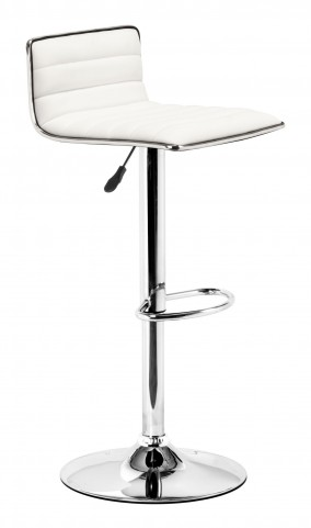 Equation White Barstool