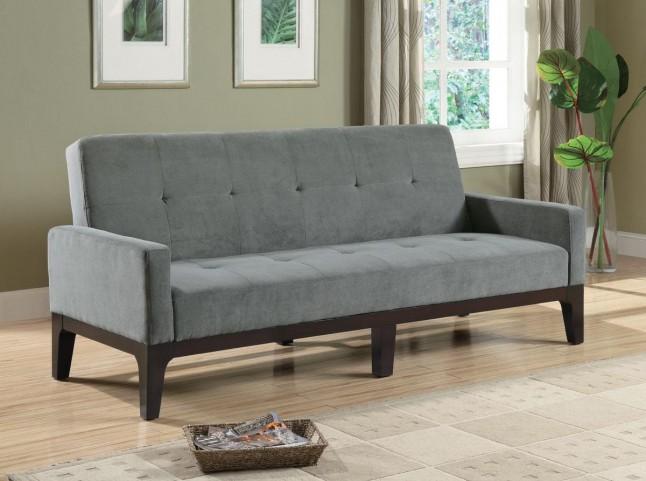 Microfiber Tufted Sofa Bed - 300229