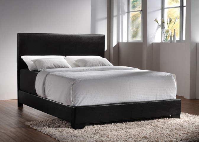 Conner Black Queen Platform Bed