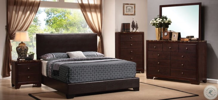Conner Black Youth Low Profile Bedroom Set