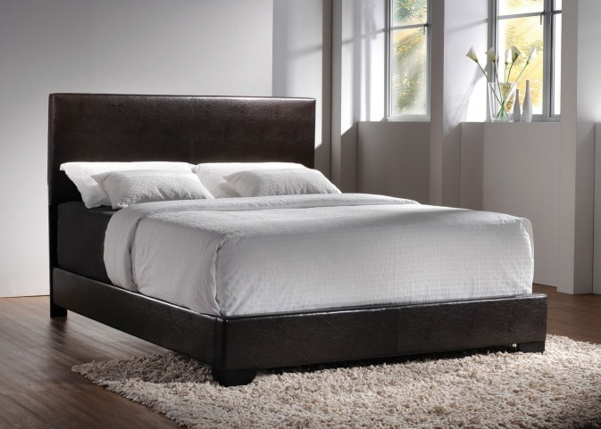 Conner Dark Brown Full Platform Bed