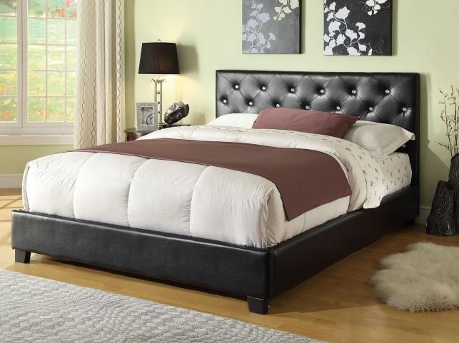 Regina Queen Upholstered Platform Bed