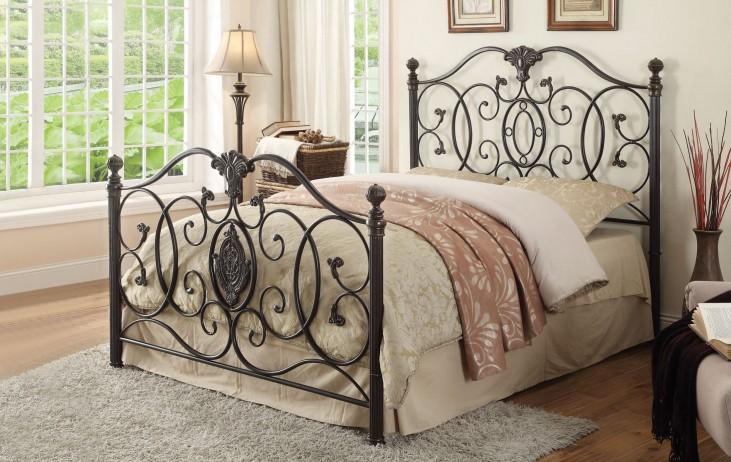 Gianna Cal. King Metal Bed