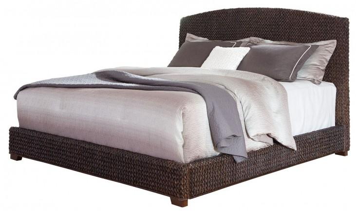 Laughton Dark Brown King Platform Bed