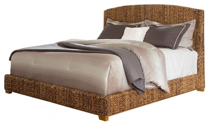 Laughton Natural King Platform Bed