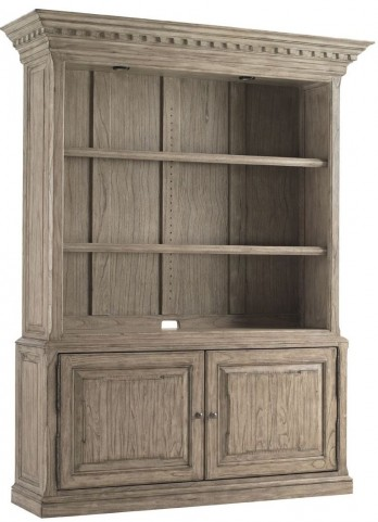 Barton Creek Driftwood Patina Mount Bonnell Bookcase