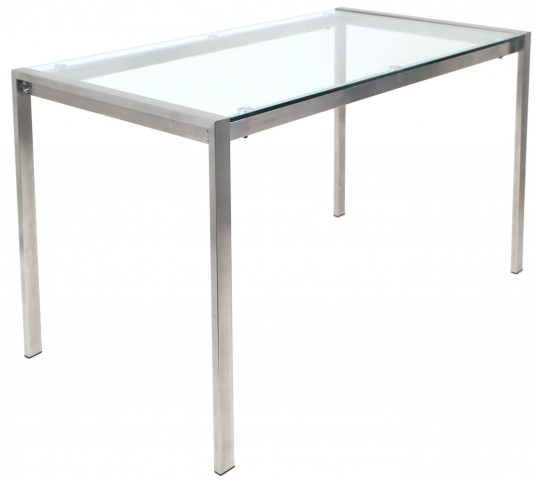 Fuji Clear Dining Table