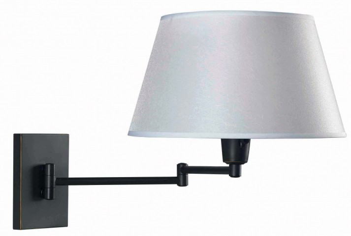 Simplicity Oil Rubbed Bronze Wall Swing Arm Lamp