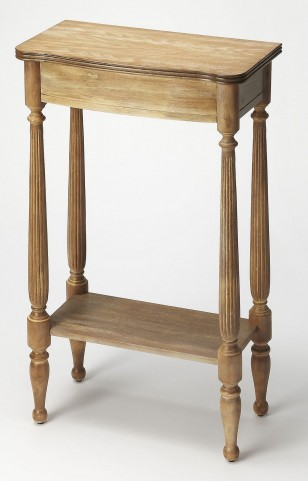 Masterpiece Whitney Driftwood Console End Table