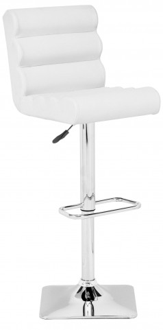 Nitro White Bar Chair
