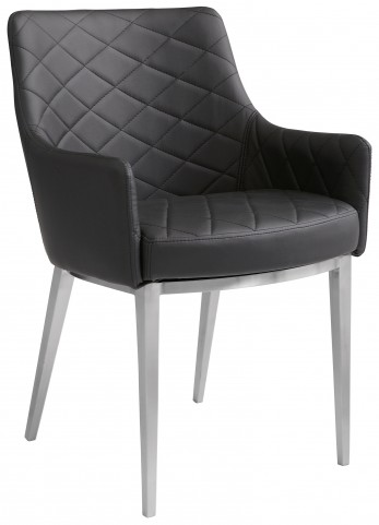 Chase Black Armchair