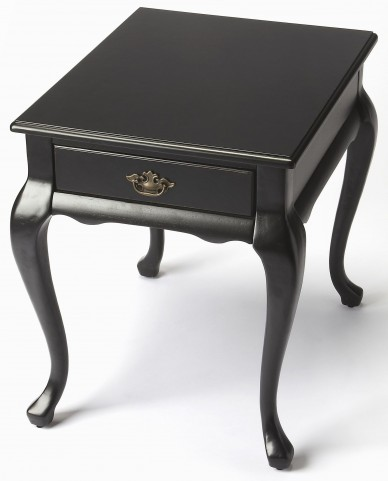 Grace Black Licorice End Table