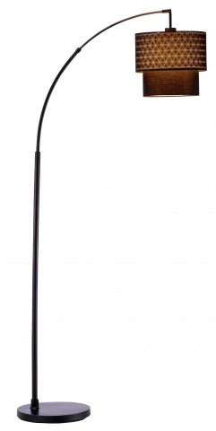 Gala Black Arc Lamp