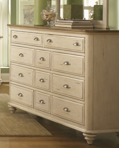 Ocean Isle 11 Drawer Dresser