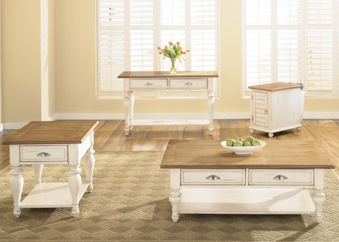 Ocean Isle Occasional Table Set