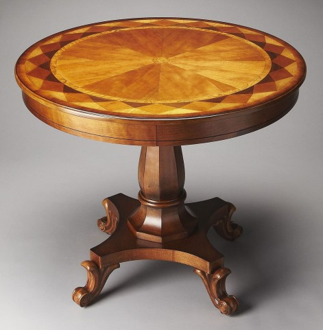 Berkley Masterpiece Olive Ash Burl Foyer Table