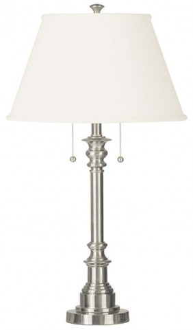 Spyglass Brushed Steel Table Lamp
