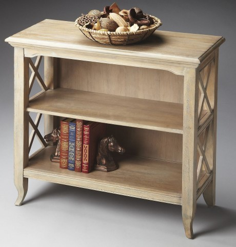 Masterpiece Newport Driftwood Low Bookcase